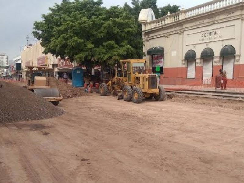 Arranca segunda etapa de pavimentación de la Elías Calles