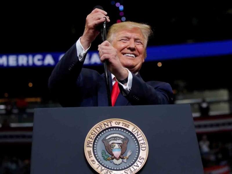 Arranca Trump campaña para su reelección en EE.UU