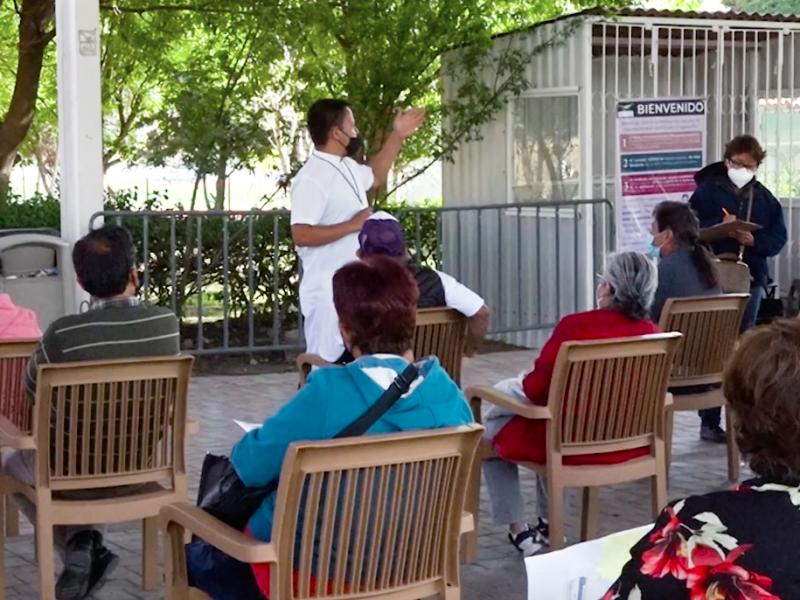 Arranca vacunación en la capital Queretana