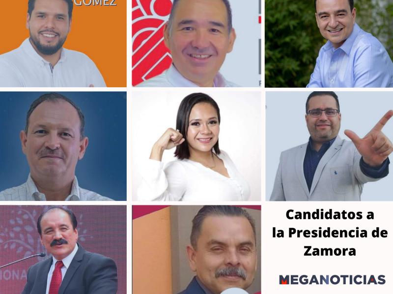 Arrancan campaña candidatos a la presidencia de Zamora