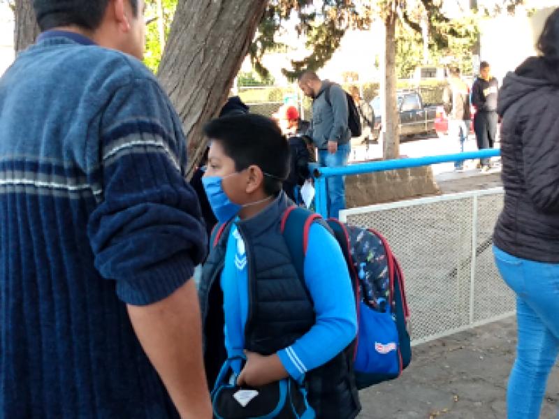 Arrancan filtros sanitarios en escuelas de Zacatecas