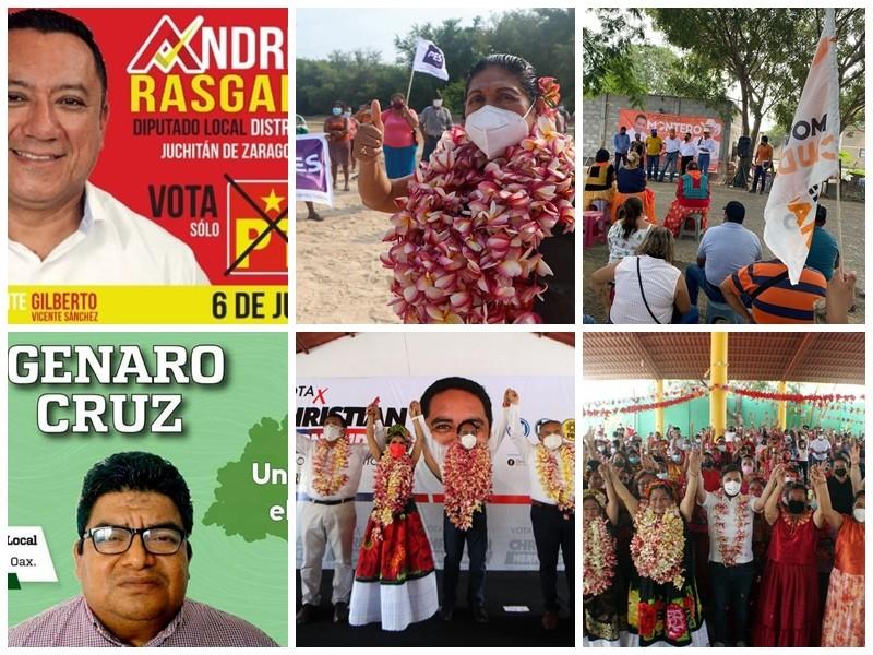 Arrancan campañas electorales para la Diputación Local del Distrito 20