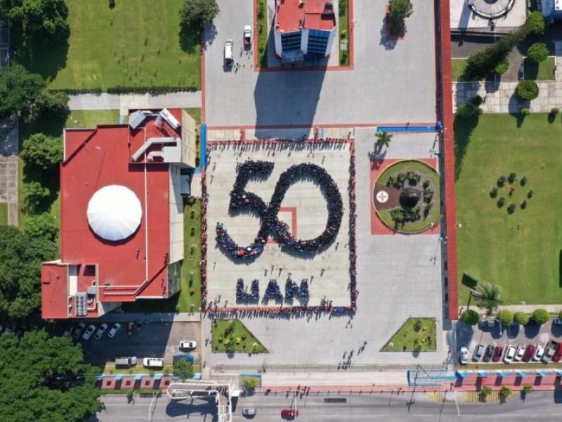 Arrancan los festejos del 50 aniversario UAN