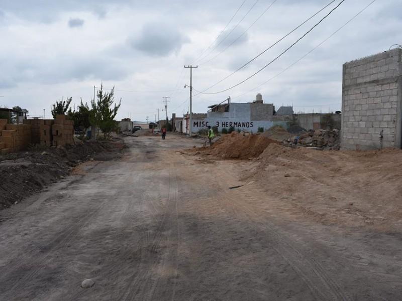 Arrancan obras de mejoramiento urbano en Pedro Escobedo
