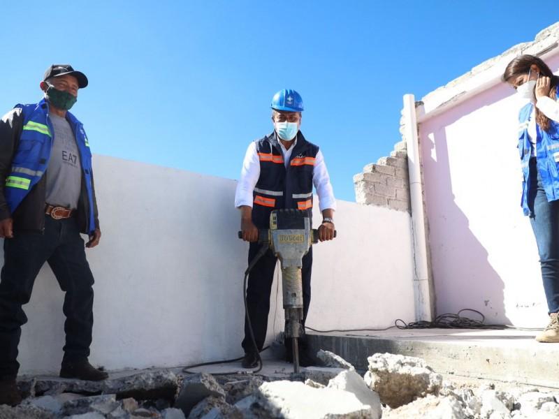 Arrancan obras en la zona alta de Colón