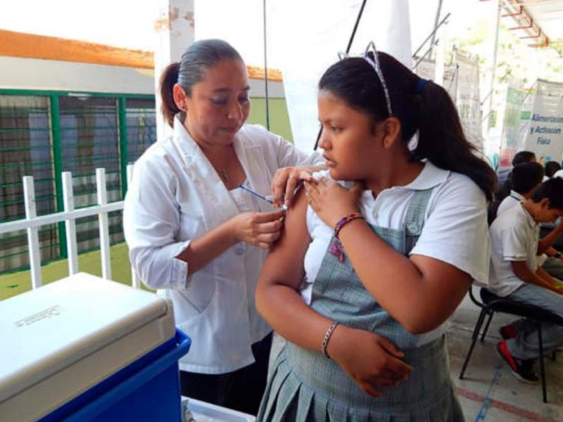 Arrancará semana nacional de vacunación