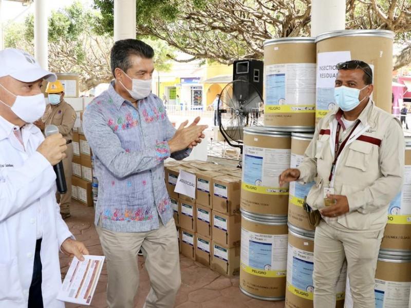 Arrancó en Acala Programa de Control del Dengue
