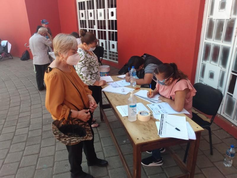Arrancó pre registro de adultos mayores para vacunación en Zamora