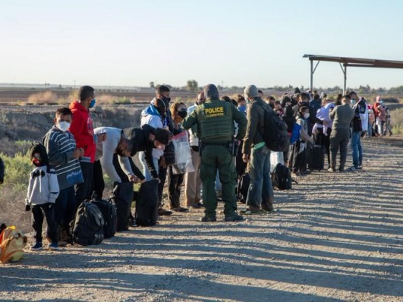 Arresta patrulla fronteriza a 151 migrantes