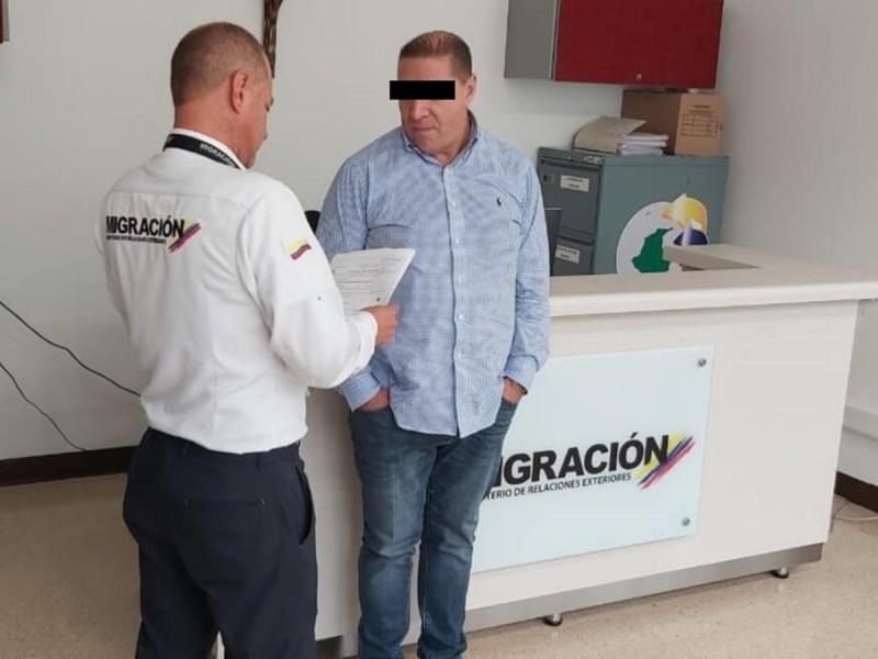 Arrestan a mexicano por narcotráfico en Colombia