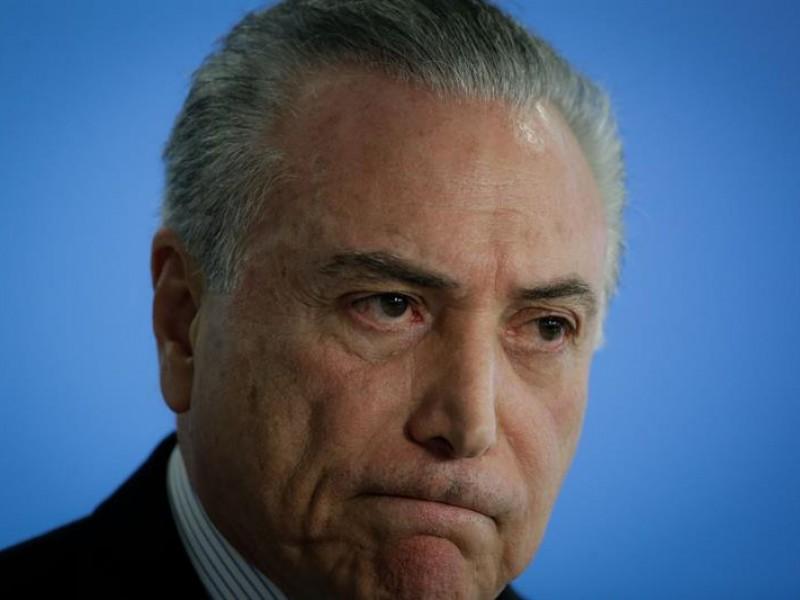 Arrestan al expresidente brasileño Michel Temer por corrupción