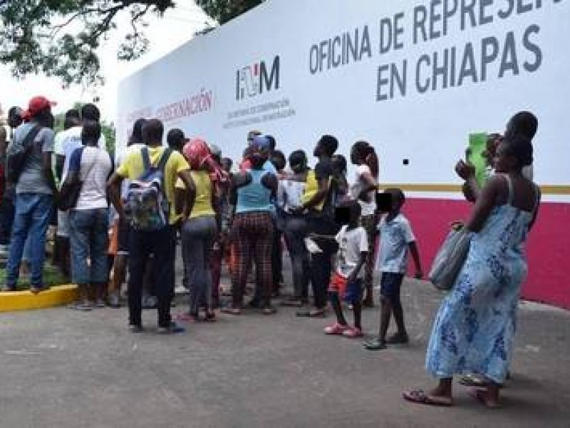 Arriba a Tapachula nueva ola de migrantes Haitianos