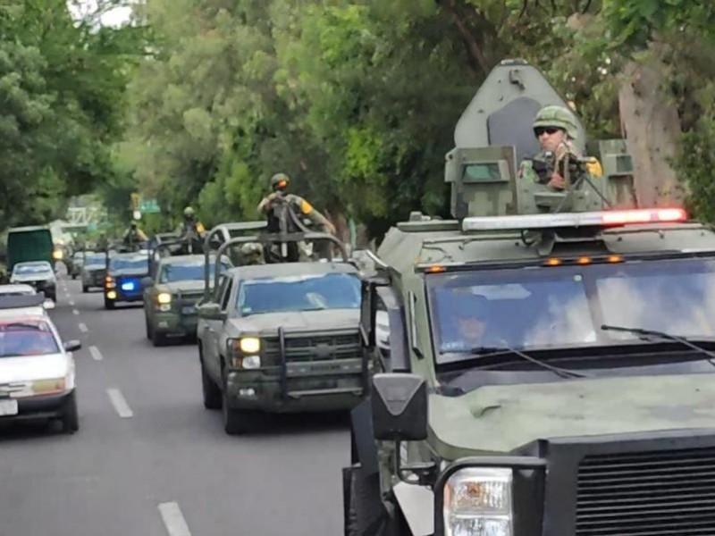 Arriban 1,500 soldados a Michoacán, para combatir alta incidencia delictiva