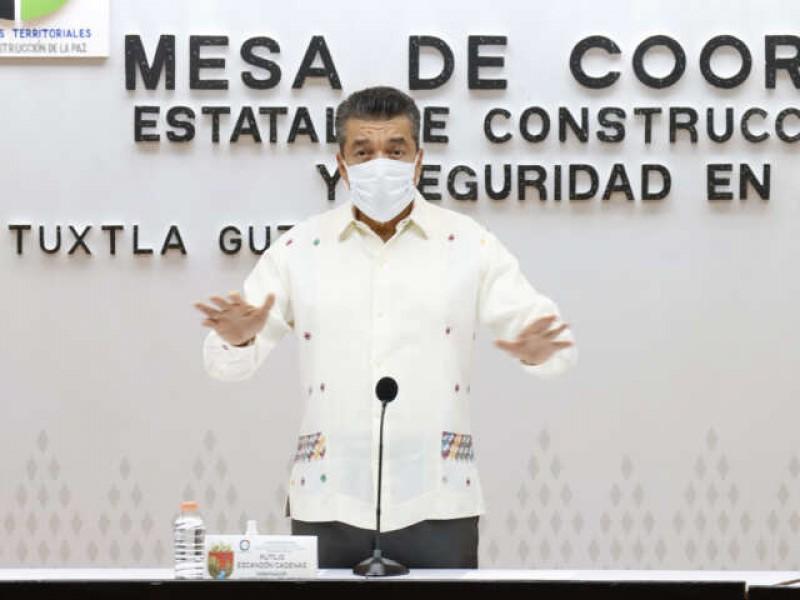 Arriban a Chiapas 337 mil 500 vacunas anti COVID-19