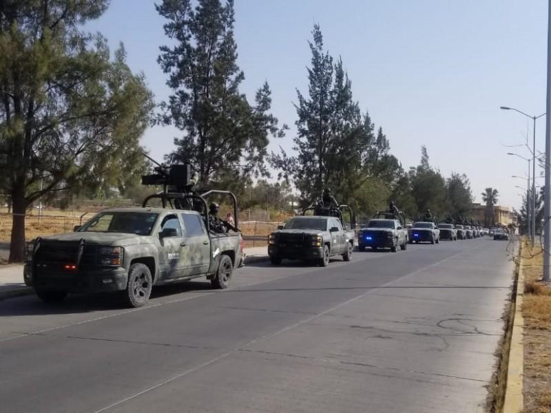 Arriban a Guanajuato mil soldados del Plan Nacional de Paz