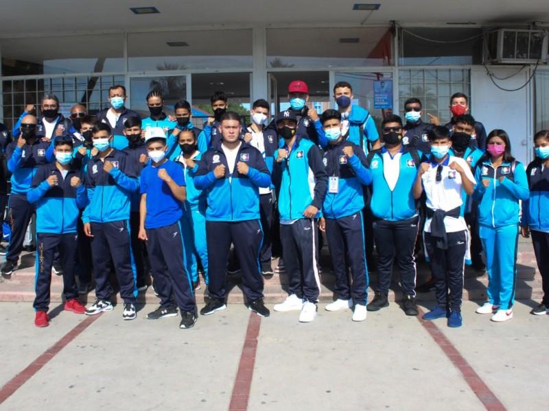 Arriban boxeadores a Sinaloa para el torneo regional