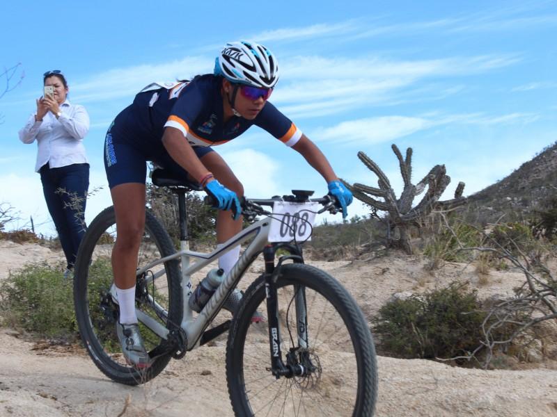 Arriban ciclistas de BCS a olimpiada Nacional