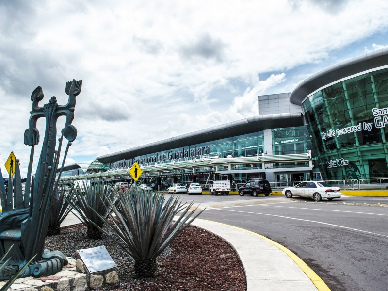 Arriban más vuelos internacionales a Jalisco durante agosto