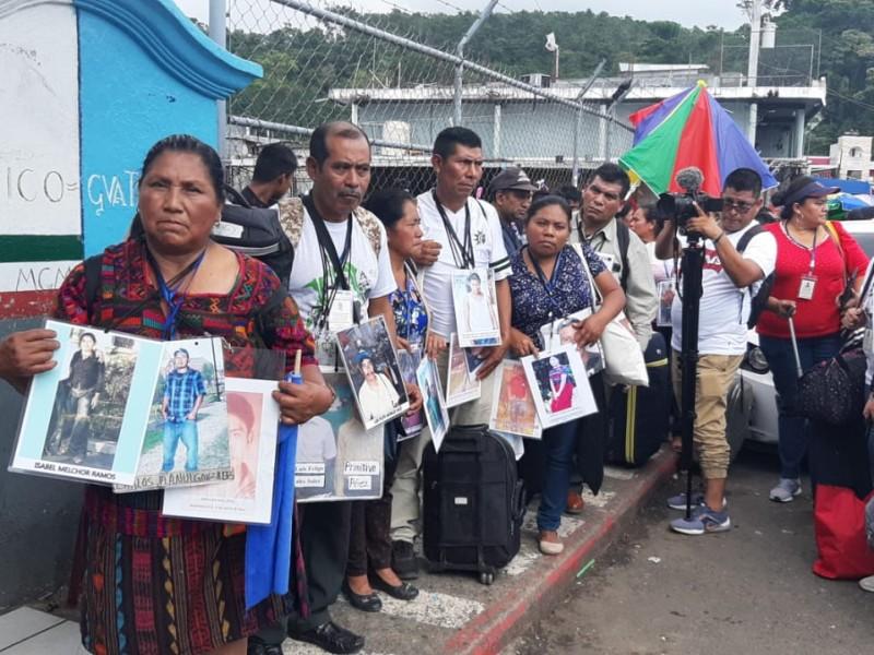 Arribó a Chiapas 15 caravana de madres migrantes