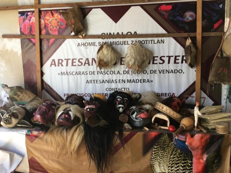 Artesanos de San Miguel visten de color las fiestas tradicionales