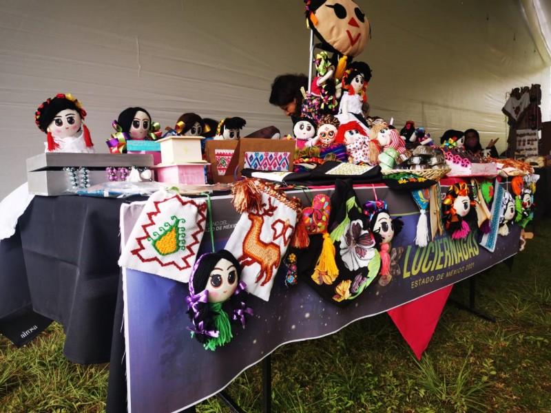 Artesanos mexiquenses llegan al festival de luciérnagas