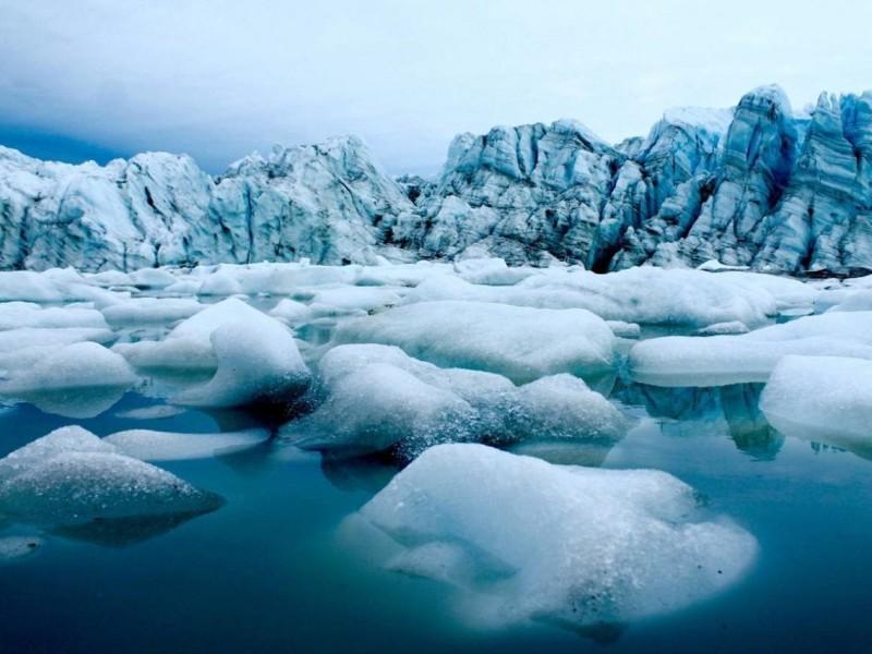 Ártico mostró en 2020 una drástica pérdida de hielo