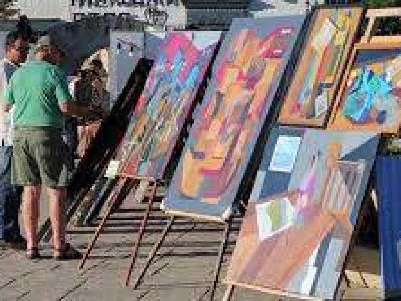 Artistas del jardín del arte reportan recuperación