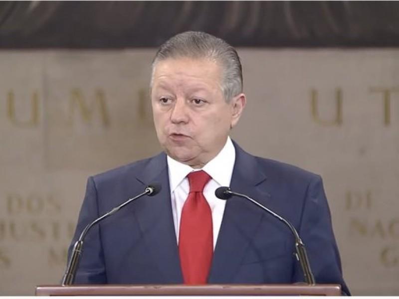 Arturo Zaldívar anuncia que rechaza la ampliación de mandato