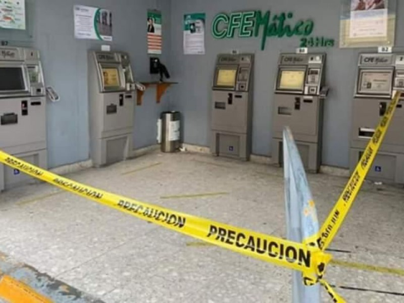 Asaltan cajero de CFE en Tehuacán