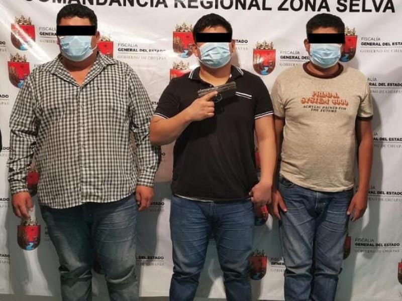 Asaltantes carreteros son detenidos en Chiapas