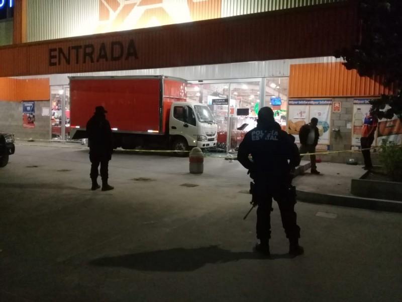 Asalto en tienda departamental Chedrahui, Xoxocotlán