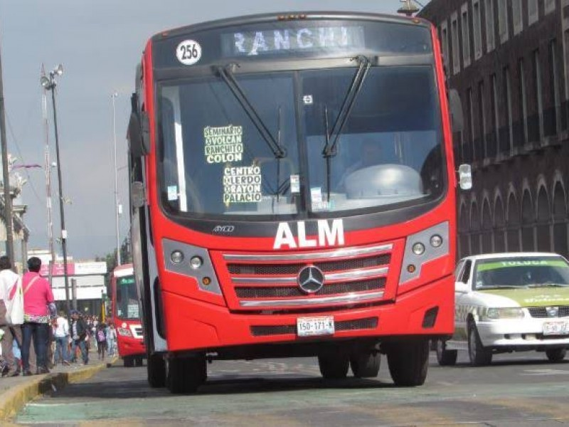 Asaltos a transporte público con violencia en Edomex