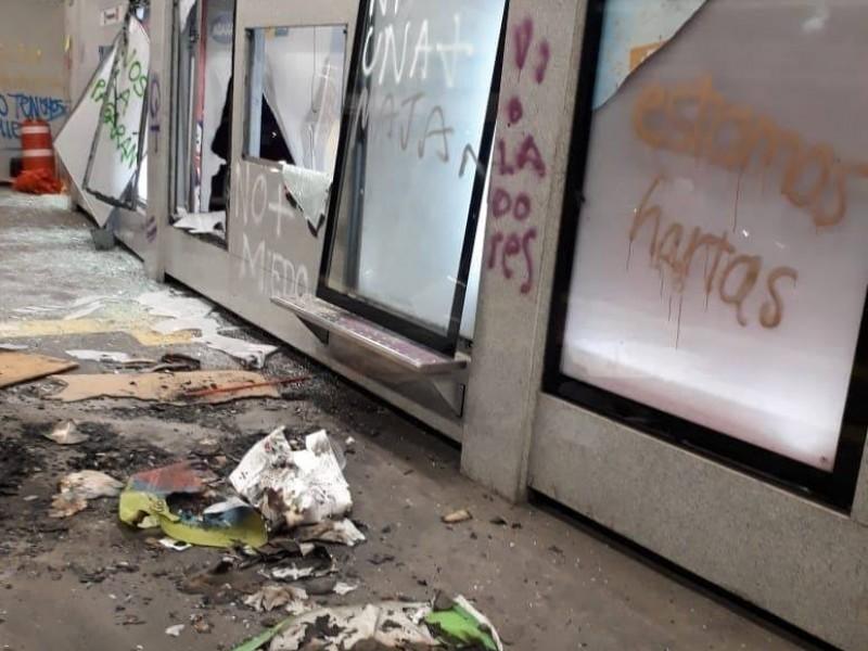 Ascienden a 1 mdp daños por actos vandálicos