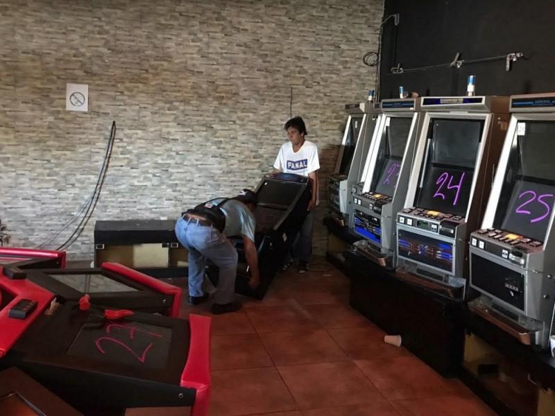 Aseguran  2 casinos clandestinos en Tamaulipas