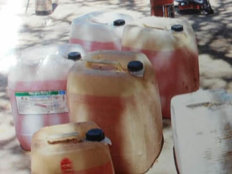 Aseguran 23 mil litros de gasolina en NL