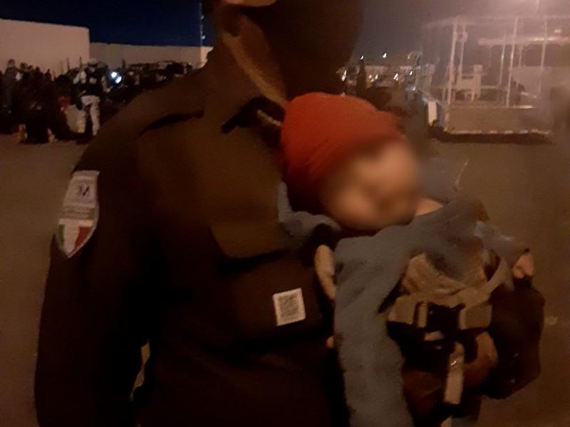 Aseguran 3 tráileres en Tamaulipas con 652 migrantes