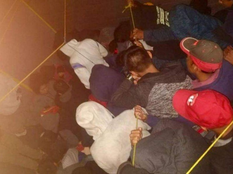 Aseguran a 114 migrantes en TGZ