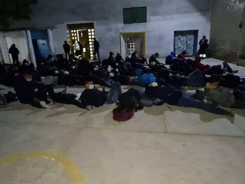 Aseguran a 57 indocumentados en Nochixtlán