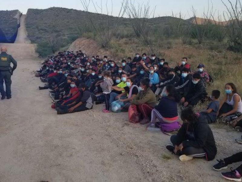 Aseguran a grupo de 160 migrantes indocumentados en Arizona