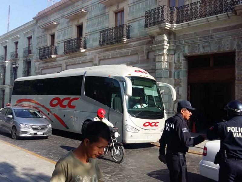Aseguran a migrantes en Oaxaca