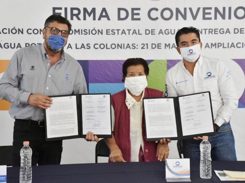 Aseguran agua potable para dos colonias más en Corregidora