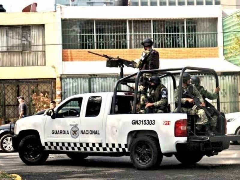 Aseguran armamento en Río Grande