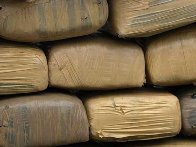 Aseguran cargamento de drogas en Coahuila