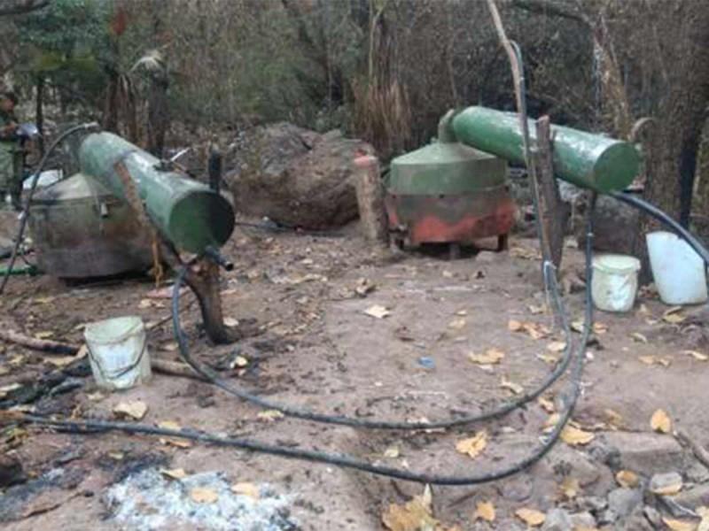 Aseguran narcolaboratorio en Sinaloa... uno más