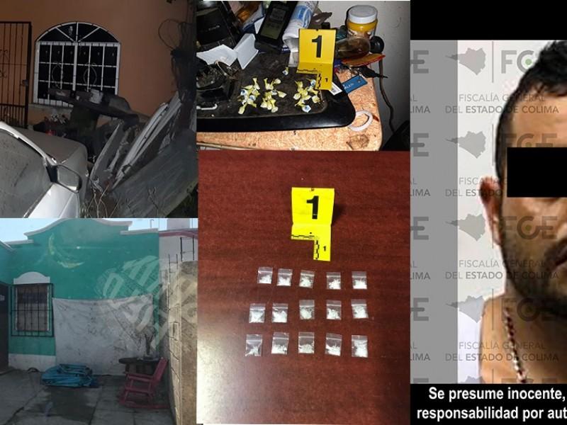 Aseguran narcóticos e inmuebles, hay un detenido