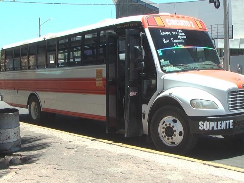 Aseguran no hay suspensión de rutas de transporte