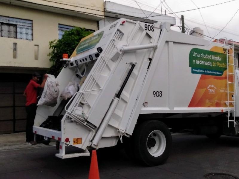 Aseo público modifica horarios para recolección de basura