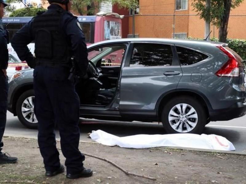 Asesinan a automovilista en Calzada de las Bombas