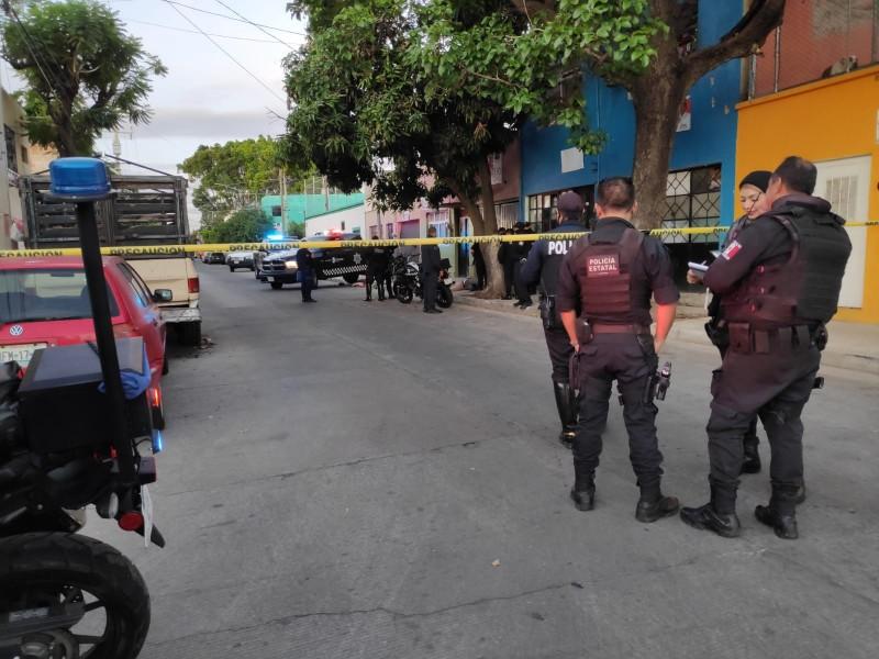 Asesinan a hombre en la colonia La Paz
