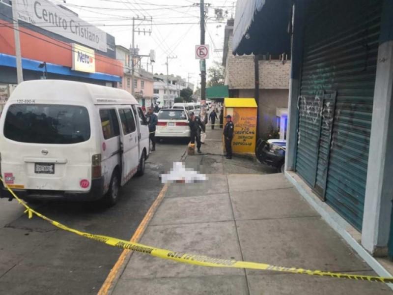 Asesinan a joven tras resistirse a asalto